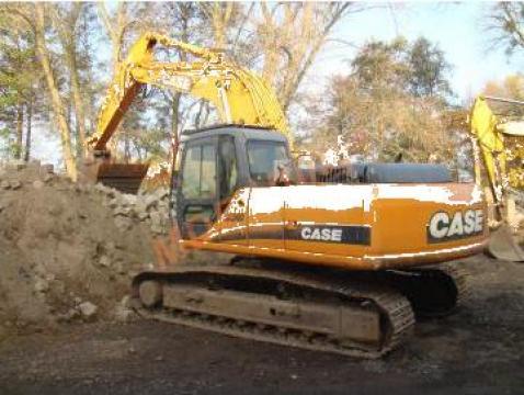 Inchiriere excavator pe senile Case Cx240 de la Magazinul De Piese Utilaje Srl