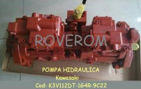 Pompa hidraulica Kawasaki excavator Kobelco, Hyundai, Volvo