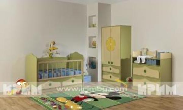 Mobilier dormitor copii Pinki 1