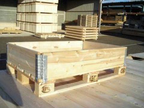 Rame pliabile pentru paleti din lemn
