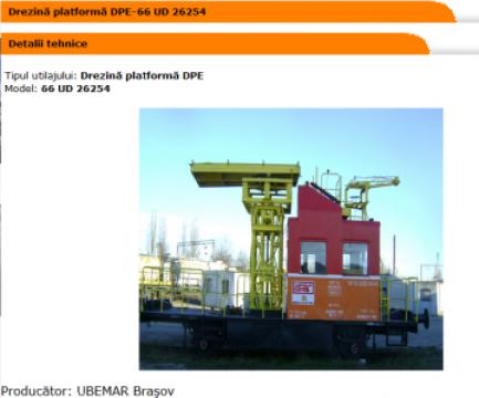 Platforma Drezina