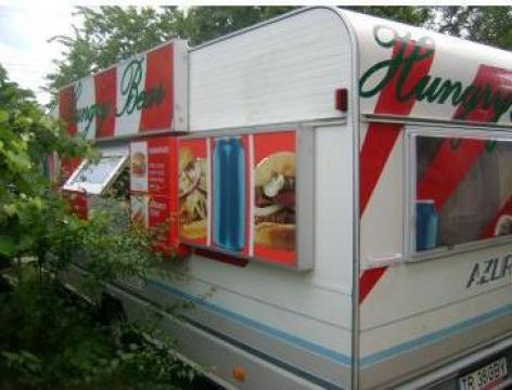 Rulota fast-food de la