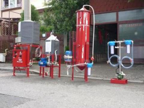 Instalatie obtinere biodiesel 1000-1200 l /24 ore de la Gamm Productie Servicii Comert Srl