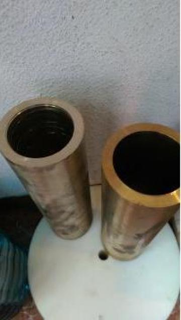 Bucsa bronz ebosata dimensiuni 70x90x300 mm de la Baza Tehnica Alfa Srl