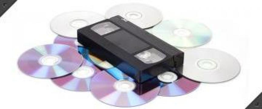Transfer casete video, DVD