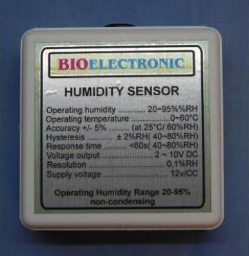 Senzor pentru masurarea umiditatii aerului de la Bioelectronic