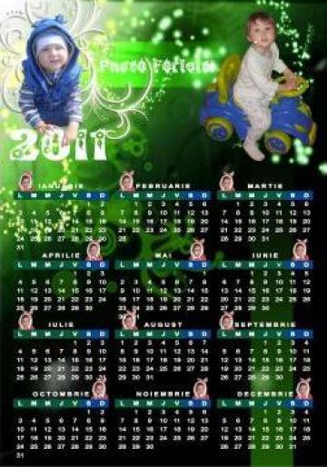 Calendare personalizate cu poza de la FairyDreams