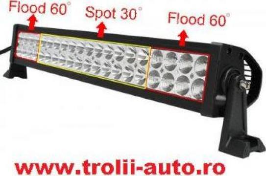 Proiector auto led bar 120W spot 9000 lumeni
