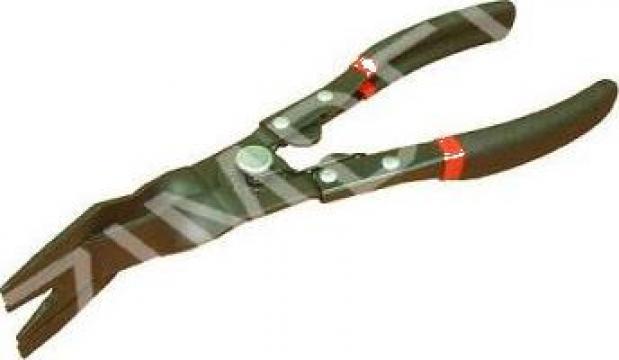 Cleste cu maxilare speciale pt. scos nituri-capse de la Zimber Tools