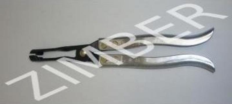 Cleste picior lung pentru sigilat supape 270 mm de la Zimber Tools