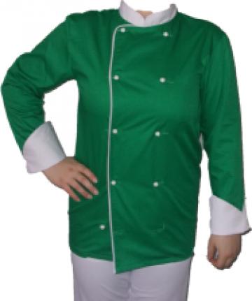 Costum bucatar verde de la Johnny Srl.