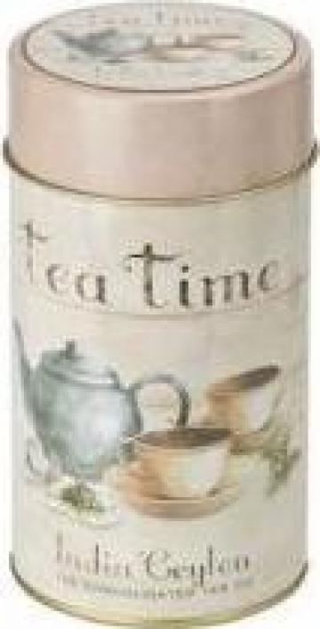 Cutie ceai Tea Time de la D'Oro Tea