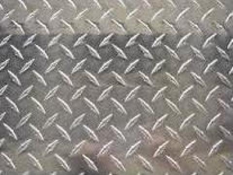 Tabla aluminiu striata si diamond de la Design LMT Steel