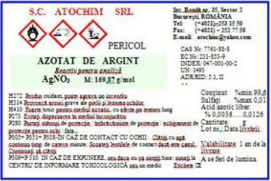 Azotat de argint AgNO3