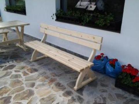 Bancuta lemn de la SC Lazar Mobila SRL