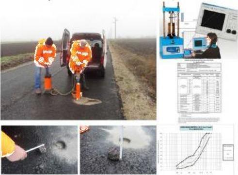 Expertizare si verificare calitate materiale drumuri