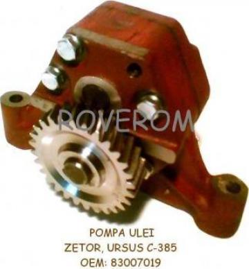 Pompa ulei Zetor, Ursus C-385 (motor 4 cilindrii)