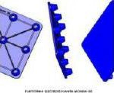 Platforme electroizolante de la Polytech Rubber Srl