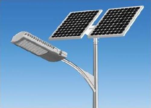 Stalp iluminat parcuri panou solar fotovoltaic PLG84W de la Palagio System Group
