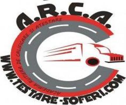 Atestate manageri de transport de la A.r.c.a. Testare Soferi