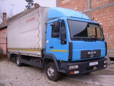 Transport urgent marfa cu camion de 7,5 tone