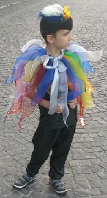 Costum serbare pasare colorata paiata, papagal 2004 de la Sabine Decor Shop Srl-d
