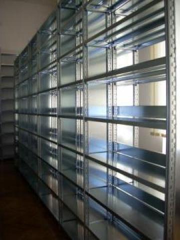 Rafturi metalice cu polite 500*1000*2000H-5NIV de la Racks Metal Srl