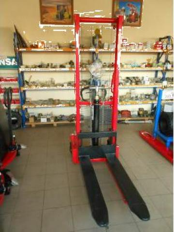 Transpaleta manuala cu ridicare de la Candex Forklifts Srl