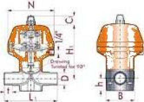 Robinet industrial 36138