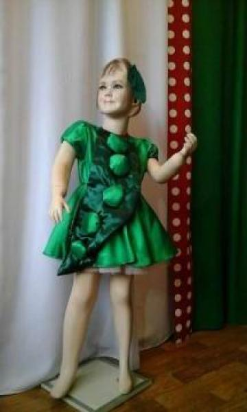 Costum serbare copii Mazare de la Costume De Serbare Pompilia Silaescu