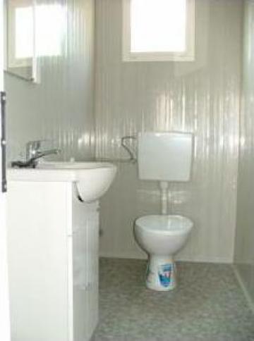 Container sanitar cu patru pana la sase cabine de la Estpoint SRL