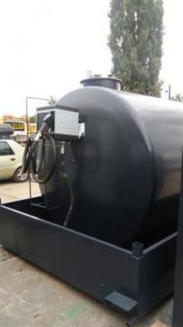 Statie motorina 9.000 litri cu pompa electronica de la Tehnica Mobila Oil