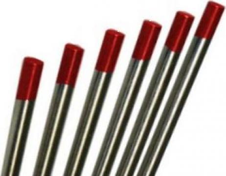 Electrozi wig-tig wolfram marcaj rosu 2.4mm de la Plasmaserv Srl