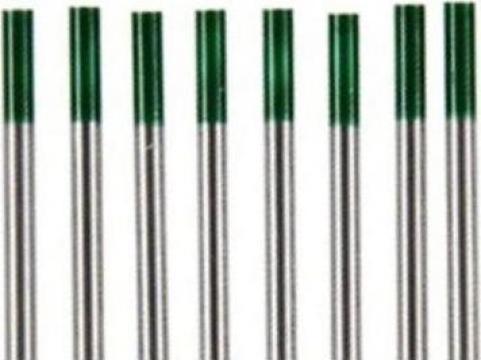 Electrozi wig-tig wolfram marcaj verde 2.4mm de la Plasmaserv Srl