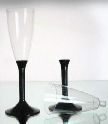 Pahare plastic sampanie de la Marketing Project Co Srl