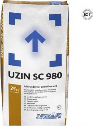 Ciment rapid cu contractii reduse Uzin SC 980 de la Alveco Montaj Srl