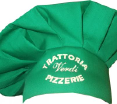 Boneta verde de cap
