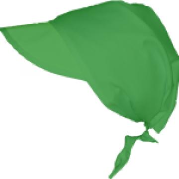 Bandana verde pentru bucatari de la Johnny Srl.