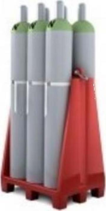 Dispozitiv transport 6 butelii gaz de la Parcon Freiwald Srl
