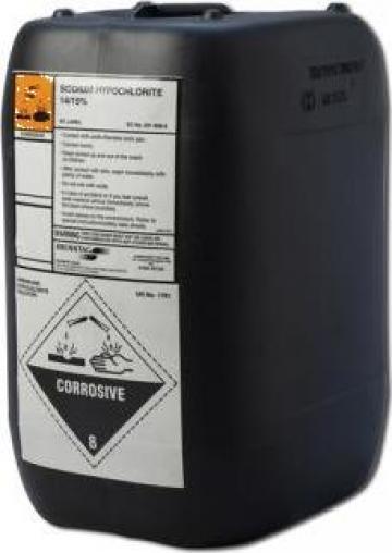 Hipoclorit de sodiu 14-16% canistra 25 Kg/ IBC 1200Kg de la Evochemie