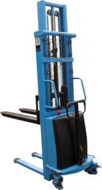 Stivuitor electric pietonal 1000kg, 1,6m