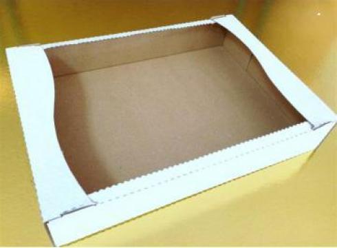 Cutii fursecuri albe 500 gr
