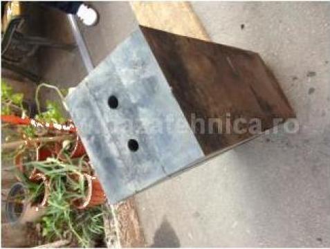 Tampon cauciuc pentru impingator barje de la Baza Tehnica Alfa Srl