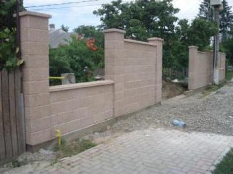 gard beton prefabricat liteni prefabet srl id 14546520. Black Bedroom Furniture Sets. Home Design Ideas