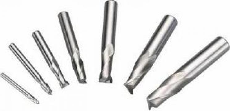Freze deget HSS cu 2 taisuri, 4 - 16 mm, 7 buc.