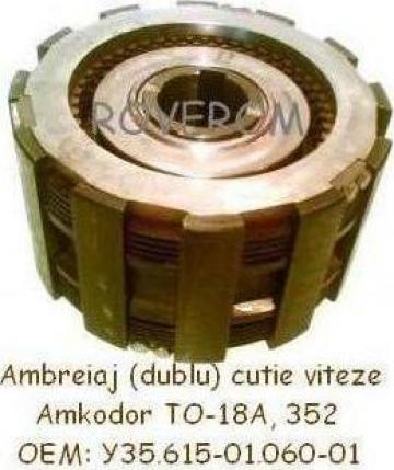 Ambreiaj (dublu) cutie viteze Amkodor TO-18A, 352 de la Roverom Srl