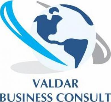 Materiale promotionale de la Valdar Business Consult Srl