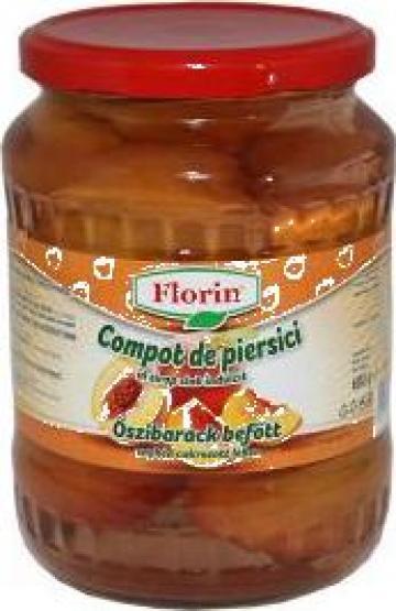 Compot de piersici Florin 720 ml