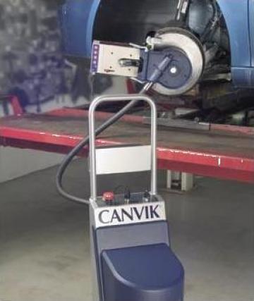 Aparat de rectificat discuri cu avans automat Canvik A5 de la Nascom Invest