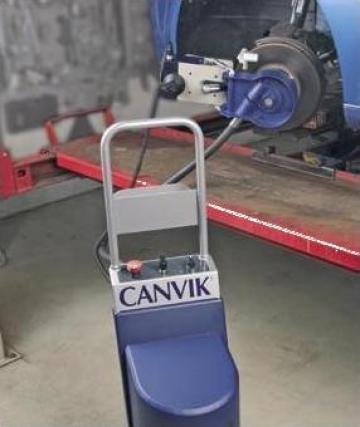 Aparat de rectificat discuri manual Canvik M5 de la Nascom Invest